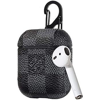 quality design 5079a 47c85 Amazon.com: Louis Vuitton AirPod case Protective Case Wireless ...