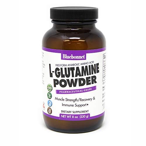 (Bluebonnet Nutrition L-glutamine Powder, 8)