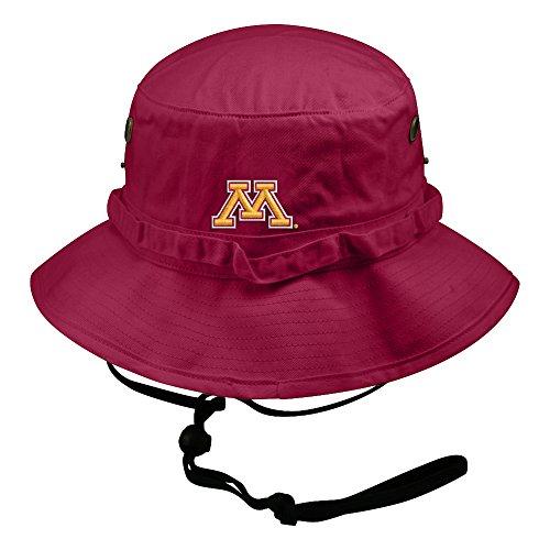 Top of the World NCAA Men's Bucket Hat Adjustable Team Icon, Minnesota Golden Gophers