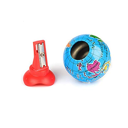 (Xeminor Earth Shape Pencil Sharpener Creative Sharpener Personality Student Supplies Office Supplies for Children 1 Pcs)