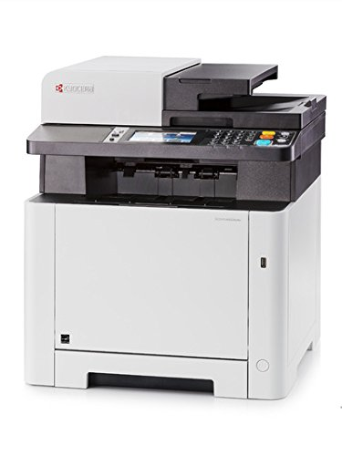 KYOCERA ECOSYS M5526cdn Laser A4 Negro, Color Blanco - Impresora multifunción (Laser, Colour Printing, Colour Copying, Colour scanning, Colour faxing, ...