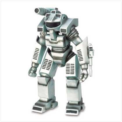 robot statue - 9