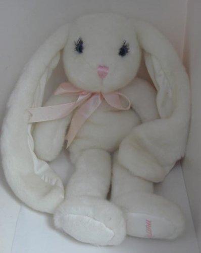 Victoria's Secret Soft White MARILYN MONROE Stuffed Animal Bunny Rabbit Plush 15