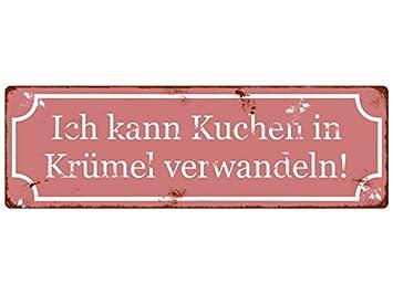 Retro METALLSCHILD Shabby Blechschild DA WILL MAN DIE GANZE WÄSCHE WASCHEN