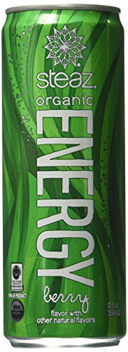 Steaz Energy Drink Berry Ounce product image