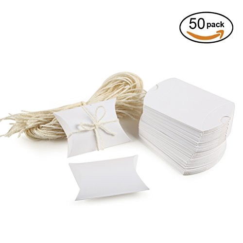 White Pillow Boxes - 2