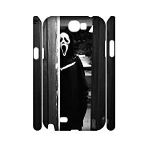 TOSOUL Custom painting Scream Phone 3D Case For Samsung Galaxy Note 2 N7100 [Pattern-3]