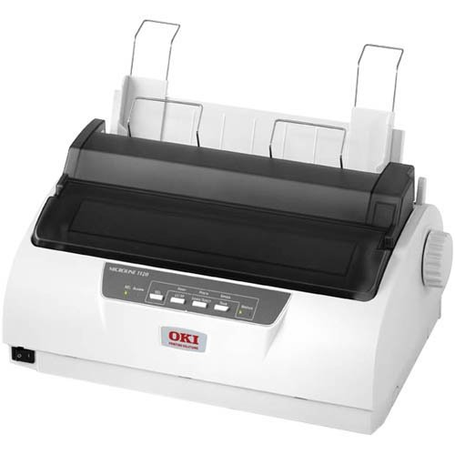 Oki Data - Oki Microline 1120 Dot Matrix Printer - Monochrome - 9-Pin 80 -Column - 375 Cps Mono - 240 X 216 Dpi - Usb - Parallel ''Product Category: Printers/Dot Matrix Printers'' by eHouse (Image #1)