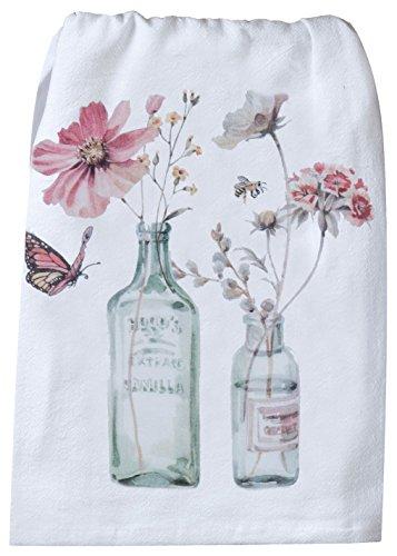 (Kay Dee Designs R4103 Handmade Floral Flour Sack Towel)