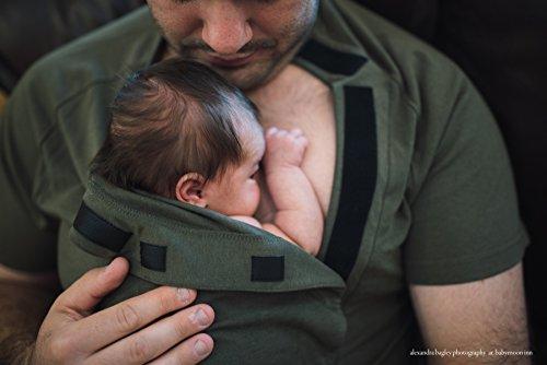 dadware-bondaroo-baby-wrap-t-shirt-skin-to-skin-kangaroo-care-bonding-shirt-soft-comfortable-safe-st