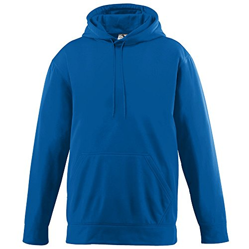 Augusta Sportswear Unisex-Adult Wicking Fleece Hooded Sweatshirt, Royal, X-Large ()