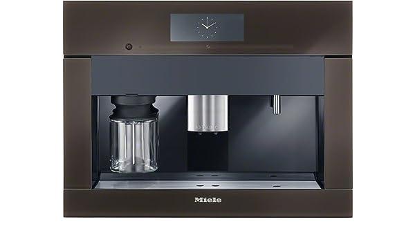 Miele CVA 6805 HVBR - Cafetera (Integrado, Marrón, Tocar, Granos de café, 2,3L, Totalmente automática): Amazon.es: Hogar