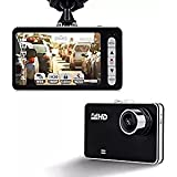 PANSIM 2.7 Inch Full HD 1080P Metal Design Car Dash LCD Slim Screen Camera