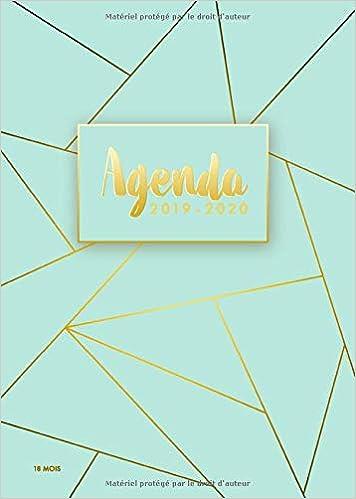 Agenda 2019/2020 | 18 mois: Agenda organiseur pour ton ...