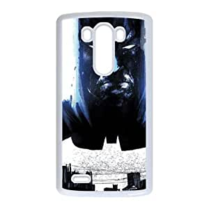 The Dark Knight City Stare LG G3 Cell Phone Case White&Phone Accessory STC_138025