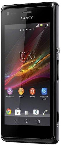 Sony Xperia M Dual-Sim Smartphone (10,2 cm (4 Zoll) Touchscreen, Qualcomm, 1GHz Dual-Core, 5 Megapixel Kamera, 1GB RAM, Android 4.2) schwarz