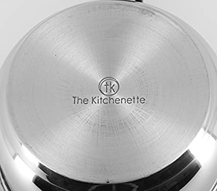 TheKitchenette 3721114 Faitout Inox Gris 20 cm