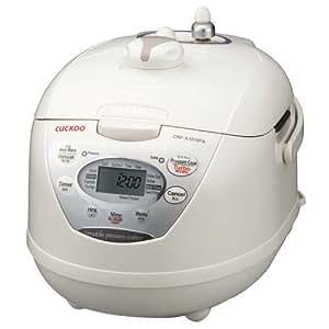 Amazon.com: Cuckoo Rice Cooker l CRP-A1010F (Ivory
