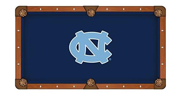 North Carolina Tar Heels azul marino con luz azul Logo billar mesa ...