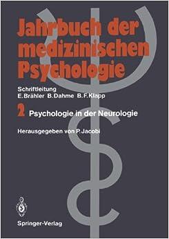 Psychologie in der Neurologie (Jahrbuch der medizinischen Psychologie) (German Edition)