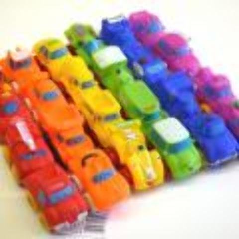 DDI 1930790 Plastic Cartoon Car by DDI