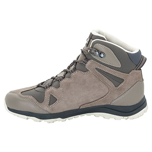 Rise W Wolfskin Shoes Ruby Hiking Women's Jack Texapore siltstone Mid Rocksand Dark 4 High RqdXX0