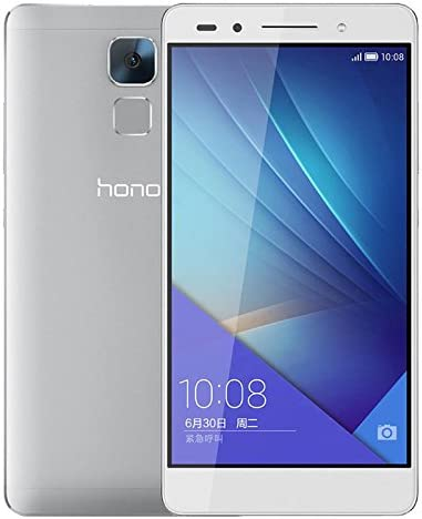 HUAWEI Honor 7 PLK-AL10 64GB Hisilicon Kirin 935 2.2GHz Octa Core 5.2 Inch FHD Screen Android 5.0 4G LTE Smartphone Silver: Amazon.es: Electrónica