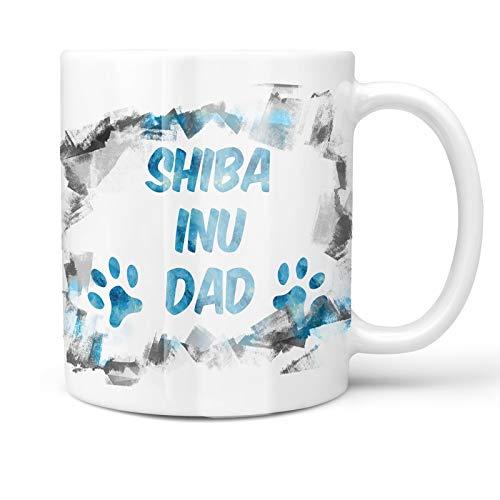 - Neonblond 11oz Coffee Mug Dog & Cat Dad Shiba Inu with your Custom Name