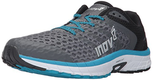 Inov-8 Men's Roadclaw 275 V2 Sneaker, grey/blue, 9.5 D US