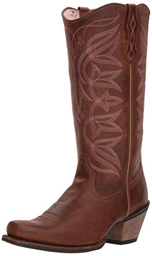 (Ariat Women's Sheridan Western Boot, Sassy Brown, 7 B US)