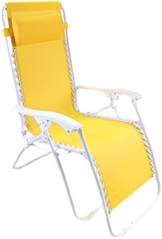 Zero Gravity Chair in Yellow –
