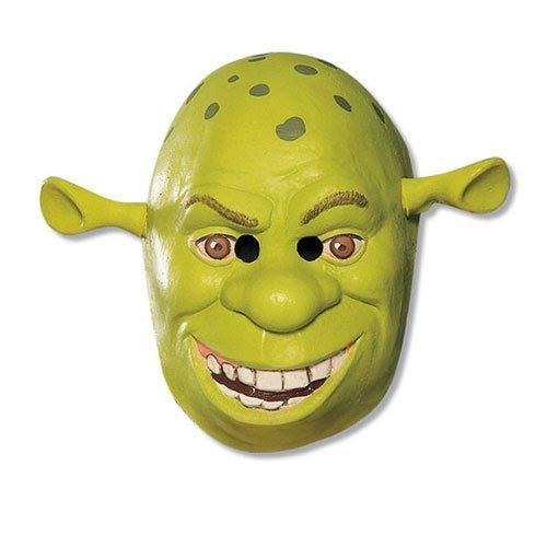 Shrek 34 Vinyl Mask Child Costume Mask,Green,One Size