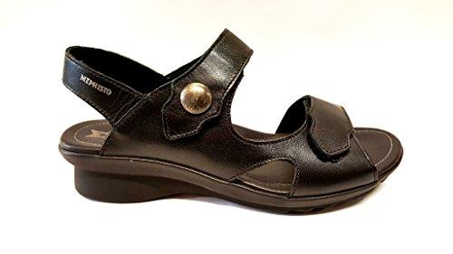 Mephisto Sandale Modell Prudy Klettverschluss schwarz/black