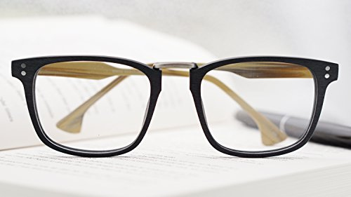 Para Adulto,Estilo de GLASSES J Retro Lente Sol Black,brown Hombres Mujeres amp;L Unisex transparente Gafas Gafas,Gafas gORfRIq