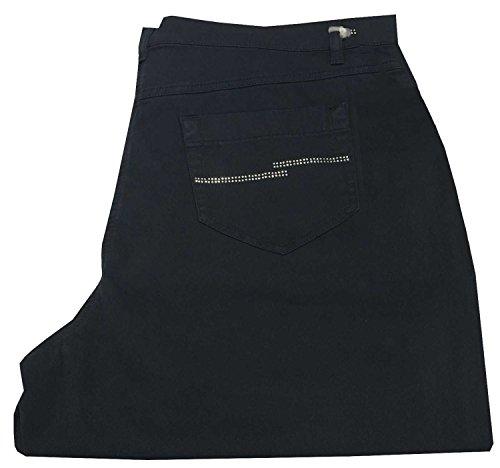 Blu Tasche Cotone 52 It By Pantalone Elastan Marina 98 2 Rinaldi 23 Con Strass Persona 1UwIYqW