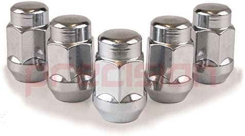 Precision 16 x Chrome Alloy Wheel Nuts and 4 x Locking Nuts for Ĺexus RX with Aftermarket Alloy Wheels PN.SFP-16NM10+N10730