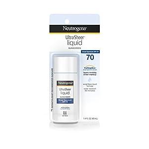 Neutrogena Ultra Sheer Liquid Sunblock, SPF 70, 1.4 Ounce