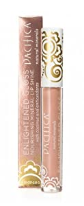 Pacifica Beauty Enlightened Gloss Natural Mineral Lip Shine, Opal, 0.1 Ounce