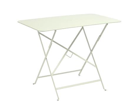 FERMOB Table rectangulaire pliante cm. 57 x 77 en acier ...