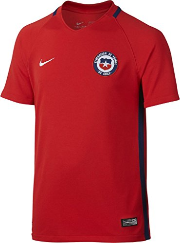 2016 Chile - Nike Chile Home Soccer Jersey 2016 Youth (YXS) Red