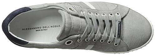 Alessandro Dellacqua Hombres Range Low Top Lace Sneaker Suedberg