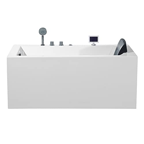 ARIEL Platinum PW1545930LW1 Whirlpool Bathtub 59