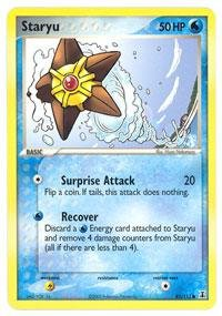 Pokemon - Staryu (85) - EX Delta Species