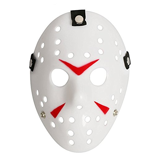 Chen Friday The 13th Horror Hockey Jason Vs. Freddy Mask Halloween Costume Prop -