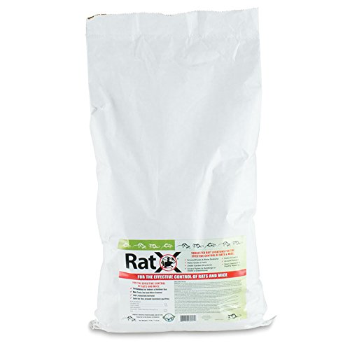 EcoClear Products RatX 620103, Humane All-Natural Non-Toxic Rat and Mouse Killer Pellets, 25 lb. Bag by EcoClear Products, Inc.