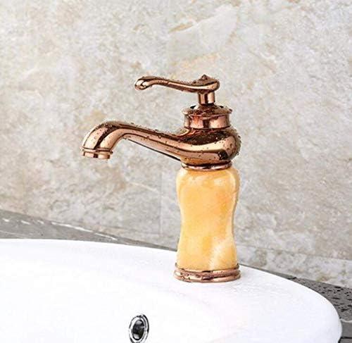 八瀬・王 流域の蛇口のすべての真鍮アンティークスタイル単穴ホットとコールドキッチン浴室の蛇口シャワー消火栓水タップ浴室用タップ