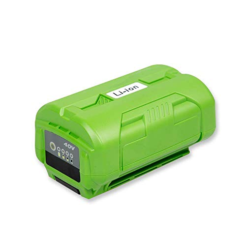 LiBatter Powerful 40V Battery 4Ah 160Wh Compatible with Ryobi 40V Tools OP4015 OP4026 OP40201 OP40261 OP4030 OP40301 OP4040 OP40401 OP4050 OP40501 OP40601(Green) ()