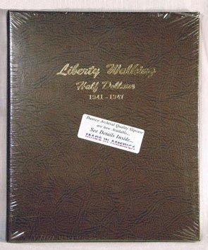 Dansco Walking Liberty Half Dollars 1941-47 Album #7161