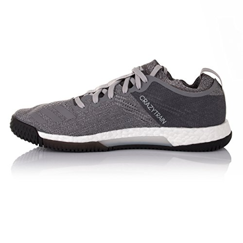 adidas Damen Crazytrain Elite W Fitnessschuhe, Weiß, 50.7 EU grau (Gritre / Plteme / Gricua)