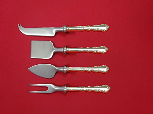 Angelique by International Sterling Cheese Serving Set 4 Piece HHWS Custom ()